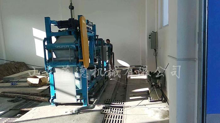 带式压滤机运行现场