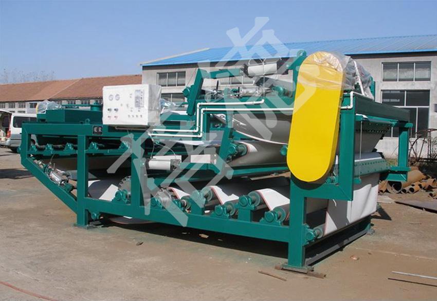 带式压滤污泥脱水设备