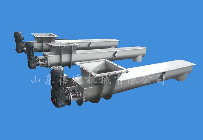 无轴螺旋输送机在污泥处理中的应用