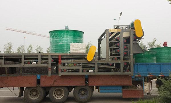 工业污泥脱水机