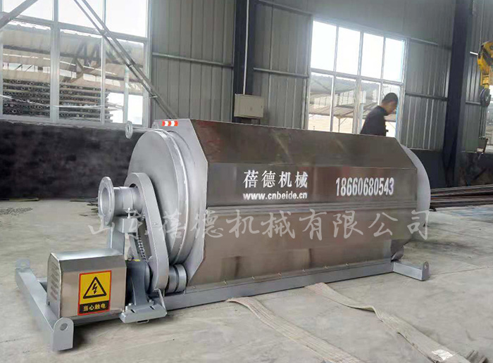 泡菜厂污水处理设备——微滤机