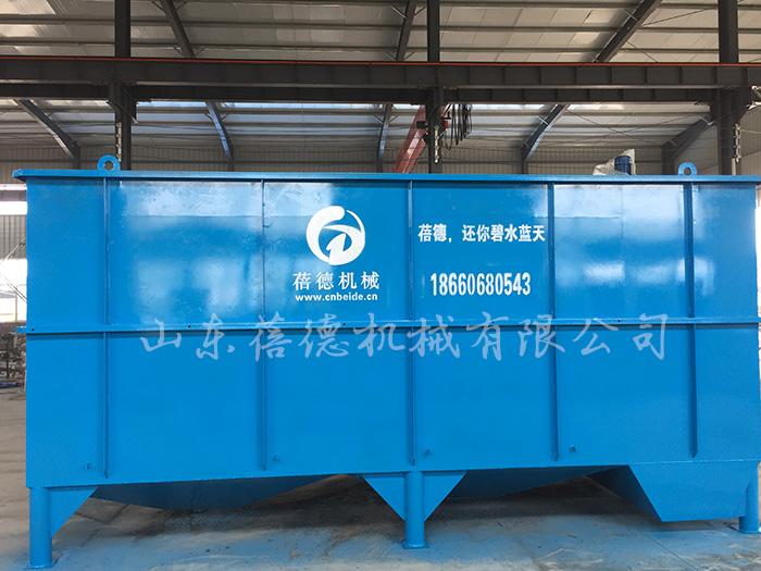 石材厂污水处理设备——斜管沉淀器