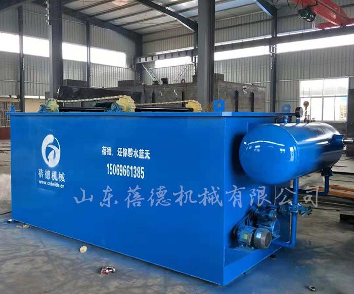 食品加工厂污水处理设备—溶气气浮机