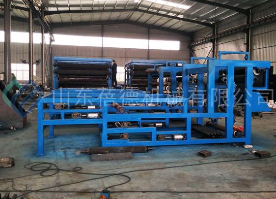 西安污水处理厂带式压滤机运行现场