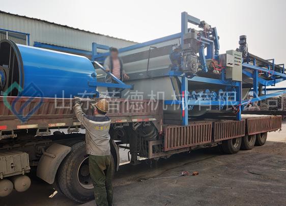 石材厂污泥处理设备——带式压滤机