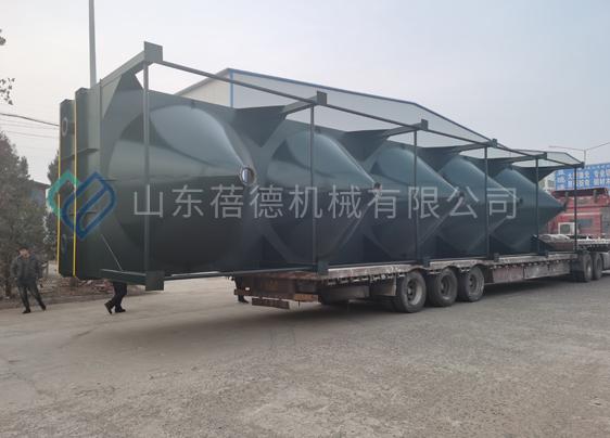陕西河沙洗沙厂带式压滤机项目