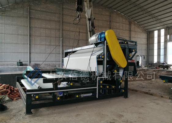 泰安污泥脱水设备项目